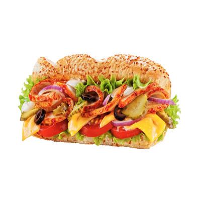 Сэндвич Буженина Шампиньоны