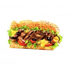 Сэндвич Шампиньоны Гриль
