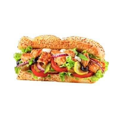 Сэндвич Курочка Терияки