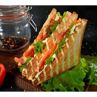"""Сэндвич тостовый """" Лосось """""""